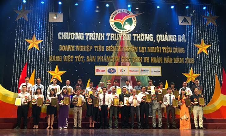 Giải Thưởng Thương Hiệu Vì Người Tiêu Dùng Việt Nam