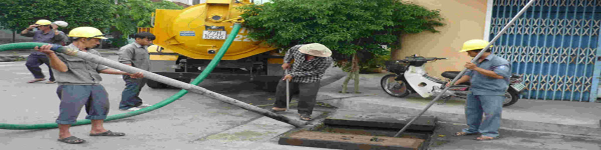 Thi công hút đường cống nước tại Hà Nội