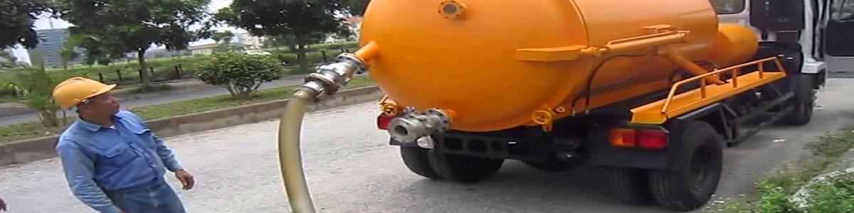Xe hút bể phốt tại Hà Nội