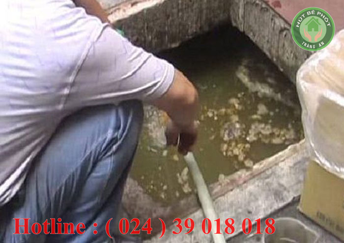 Dịch vụ hút bể phốt tại cửa Nam Tràng an